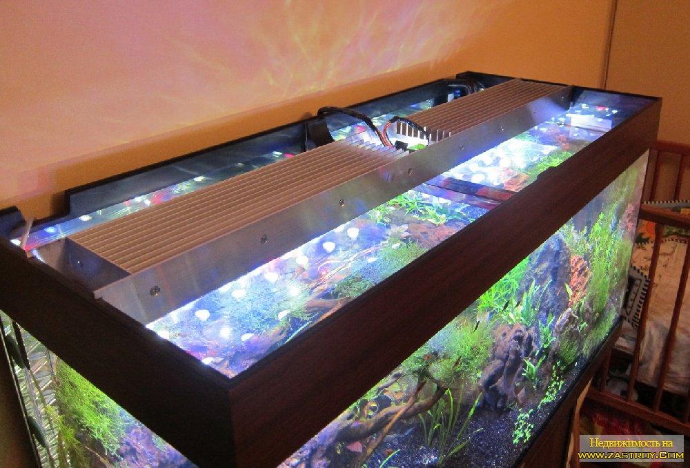Делаем освещение в аквариуме своими руками